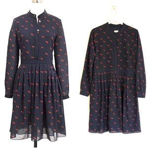 J Crew Factory Printed Shirt Dress